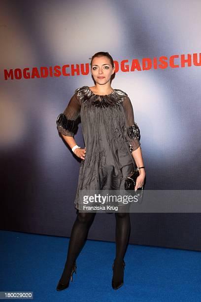 Anne Menden Bei Der Premiere Des Ard Films 'Mogadischu' Im Sony Center In Berlin