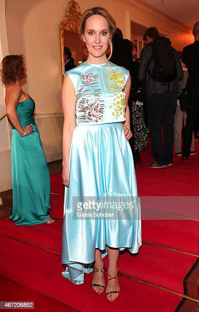 Anne MeyerMinneman Editor in chief of GALA during the Gala Spa Awards 2015 at Brenners ParkHotel Spa on March 21 2015 in BadenBaden Germany