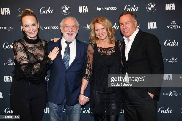 Anne MeyerMinnemann and Dieter Hallervorden and his partner Christiane Zander Nico Hofmann during the Berlin Opening Night by GALA and UFA Fiction at...