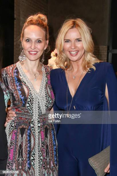 Anne MeyerMinnemann and German actress Veronica Ferres during the Douglas X Peter Lindbergh campaign launch at ewerk on May 30 2018 in Berlin Germany