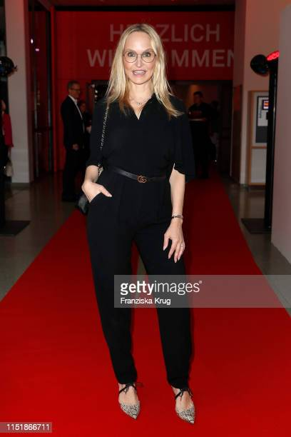 """Anne Meyer-Minnemann attends the """"Tag des Journalismus"""" with Nannen Award 2019 at Gruner + Jahr publishing house at Baumwall on May 25, 2019 in..."""