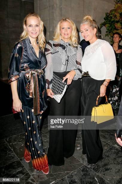Anne MeyerMinnemann chief editor Gala magazine Germany German presenter Barbara Schoeneberger and Hili Ingenhoven editor Gala magazine Germany attend...