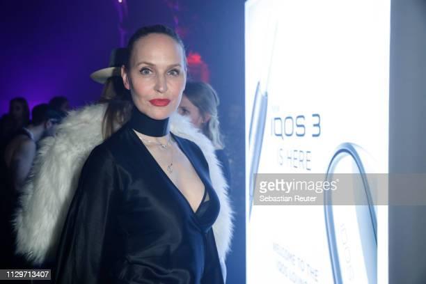 Anne MeyerMinnemann during the Sleek X IQOS Valentines Party at Claerchens Ballhaus on February 14 2019 in Berlin Germany