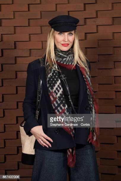 Anne MeyerMinnemann editor in chief of Gala attends the Chanel Collection Metiers d'Art Paris Hamburg 2017/18 at The Elbphilharmonie on December 6...