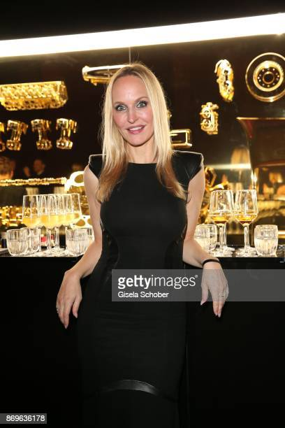 Anne MeyerMinnemann editor in chief of Gala during the 'When the Ordinary becomes Precious #CartierParty Berlin' at Old Power Station on November 2...