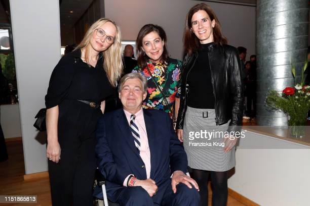 Anne MeyerMinnemann Matthias Prinz Alexandra von Rehlingen and Katja Suding attend the Tag des Journalismus with Nannen Award 2019 at Gruner Jahr...