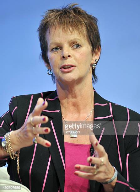 Anne Milton GB Conservative MP for Guildford listens to a speech at The Conservative Party Conference in Birmingham England Sept 2008