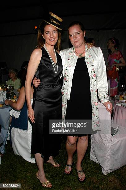 Anne Moore and Alison Moore Harris attend The Parrish Art Museum Midsummer Party Honoring Director Trudy C Kramer at Southampton on July 14 2007