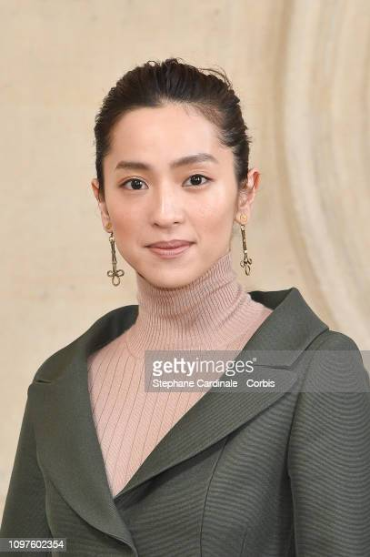 Anne Nakamura attends the Christian Dior Haute Couture Spring Summer 2019 show as part of Paris Fashion Week on January 21 2019 in Paris France