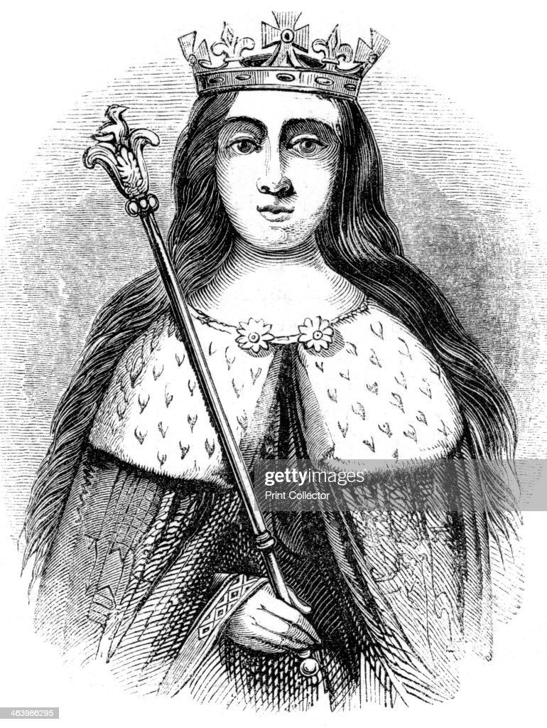 Anne Neville, Queen consort of King Richard III of England 1483-1485.Artist: Anne Neville : News Photo