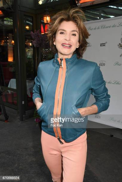 Anne Nivat attends 'La Closerie Des Lilas' Literary Awards 2016 At La Closerie Des Lilas on April 19 2017 in Paris France