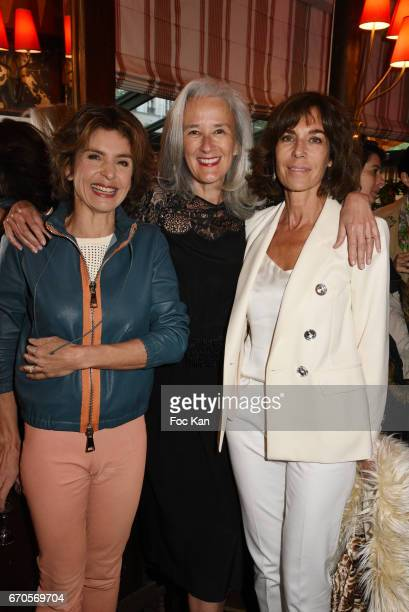 Anne Nivat Tatiana de Rosnay and Christine Orban attend 'La Closerie Des Lilas' Literary Awards 2016 At La Closerie Des Lilas on April 19 2017 in...