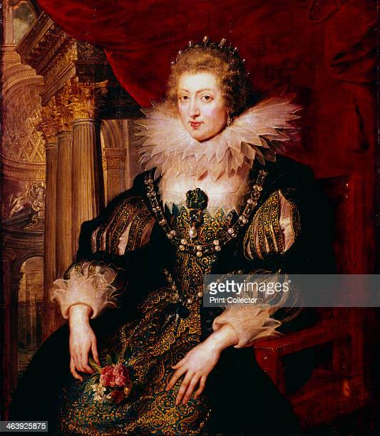 Anne of Austria, Queen Consort of France, 17th century. Anne was the wife of Louis XIII and mother of Louis XIV. After the death of her husband in...