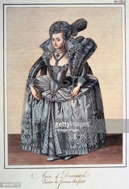 Anne of Denmark wife of James I of England Anne married James then King of Scotland in 1589 Their second son succeeded James as King Charles I in...