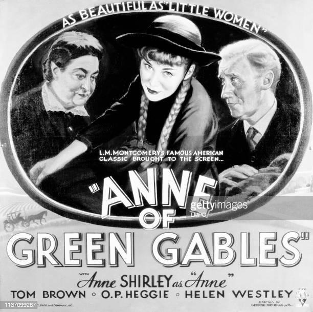 Anne Of Green Gables poster Helen Westley Anne Shirley OP Heggie 1934