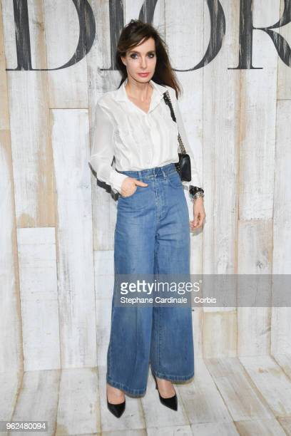Anne Parillaud attends the Christian Dior Couture S/S19 Cruise Collection on May 25 2018 in Chantilly France