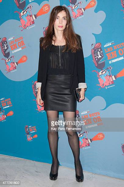 Anne Parillaud attends the 'Les Nuits En Or 2015' gala at UNESCO on June 15 2015 in Paris France