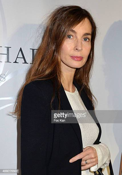 Anne Parillaud attends the 'Mayshad Luxury Bag BFF' Launch Party At Park Hyatt Vendome on November 18 2014 in Paris France
