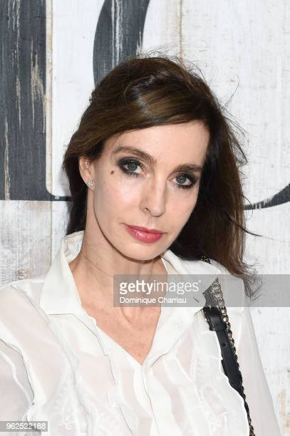 Anne Parillaud poses at a photocall during Christian Dior Couture S/S19 Cruise Collection on May 25 2018 in Chantilly France