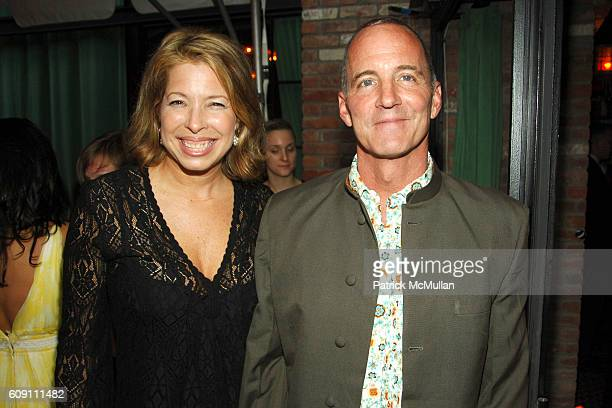 Anne Pasternak and Cee Scott Brown attend CREATIVE TIME CELEBRATES ITS 33RD BIRTHDAY at Bowery Hotel on May 10 2007 in New York City