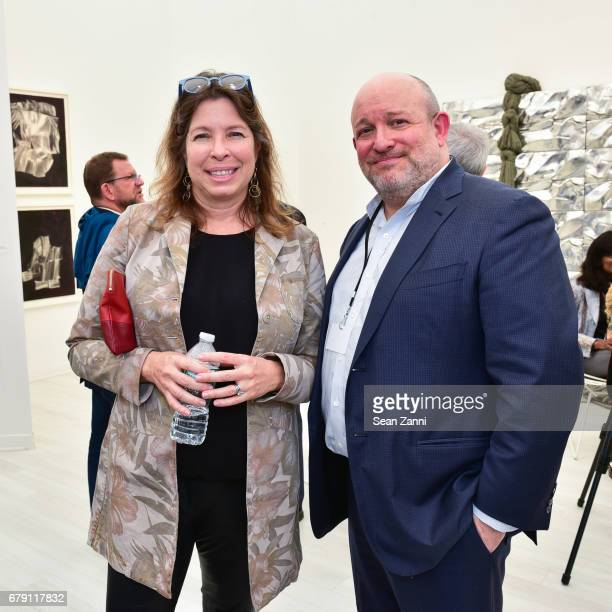Anne Pasternak and Guest attend FRIEZE New York 2017 Preview Day at Randall's Island Park on May 4 2017 in New York City