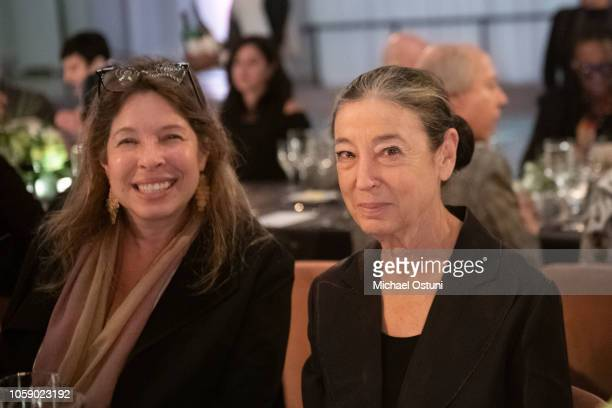 Anne Pasternak and Guest attend the AS IF Magazine Speaker Series With Audemars Piguet Brooklyn Museum on November 7 2018 in New York City