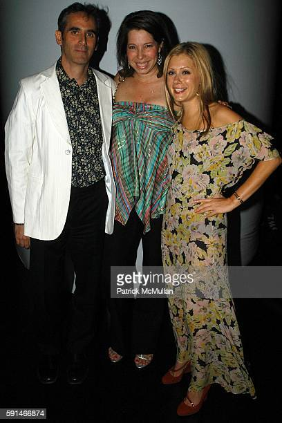Anne Pasternak and Tara Subkoff attend Trip The Light Fantastic A Psychedelic Benefit For Creative Time at Spirit on May 19 2005 in New York City