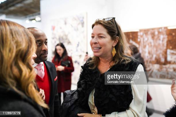 Anne Pasternak during the Armory Show 2019 VIP Preview at Pier 90 on March 6 2019 in New York City
