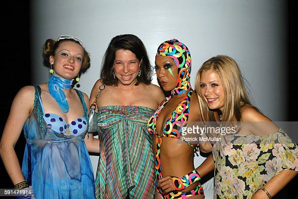 Anne Pasternak Tara Subkoff and and Dancers attend Trip The Light Fantastic A Psychedelic Benefit For Creative Time at Spirit on May 19 2005 in New...