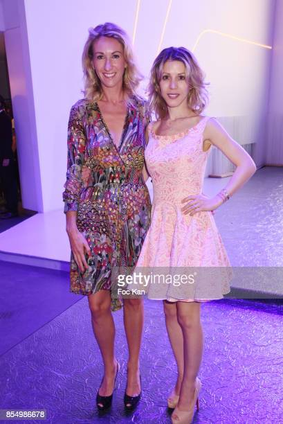 Anne Pfaff from Renault Communication and writer Tristane Banon attend the Christophe Guillarme Show as part of the Paris Fashion Week Womenswear...