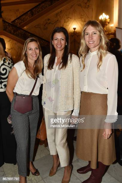 Anne Prentice Shirin Christoffersen and Alison Brokaw attend Brooke Shields joins Teaching Matters in promoting the need for strong early literacy...