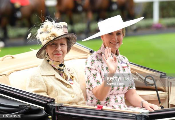 Anne Princess Royal and Sophie Countess of Wessex attend day one of Royal Ascot at Ascot Racecourse on June 18 2019 in Ascot England