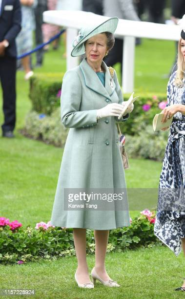 Anne Princess Royal attends day three Ladies Day of Royal Ascot at Ascot Racecourse on June 20 2019 in Ascot England