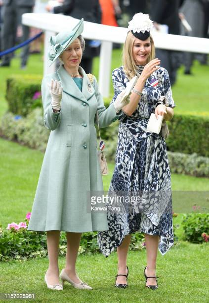Anne, Princess Royal attends day three, Ladies Day, of Royal Ascot at Ascot Racecourse on June 20, 2019 in Ascot, England.