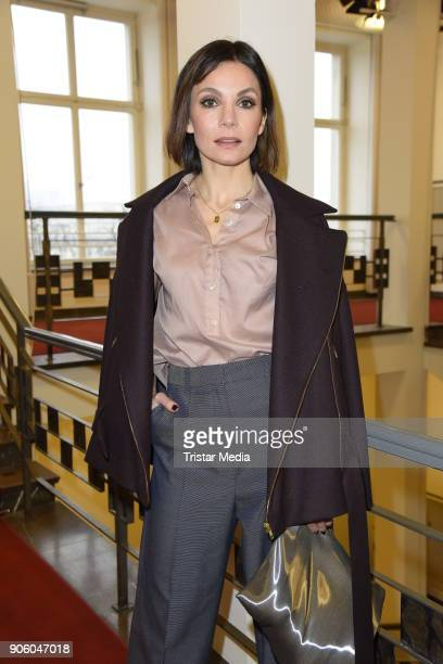 Anne RattePolle during the Perret Schaad Presentation Der Berliner Salon AW 18/19 at Kronprinzenpalais on January 17 2018 in Berlin Germany