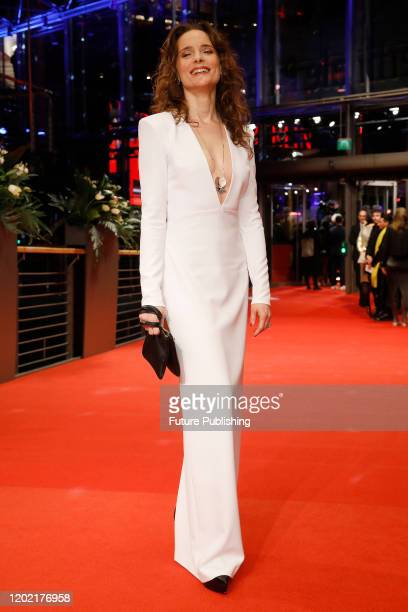 Anne RattePolle photographed at the red carpet of the opening ceremony and 'My Salinger Year' premiere at the Berlinale Palast during the 70th...