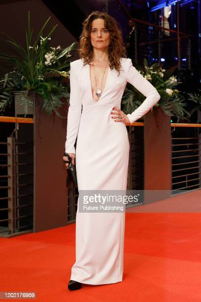Anne RattePolle photographed at the red carpet of the opening ceremony and My Salinger Year premiere at the Berlinale Palast during the 70th...