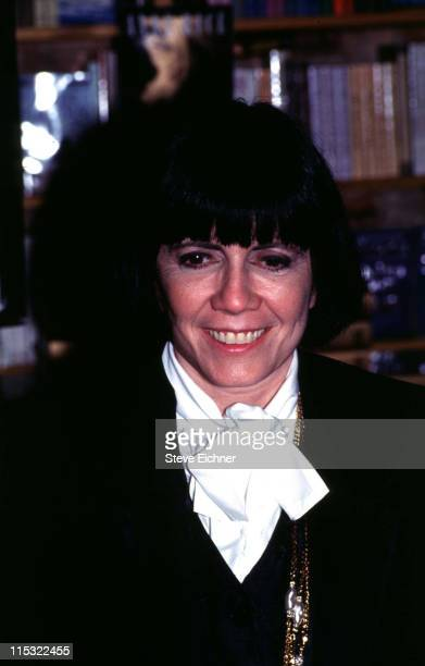 Anne Rice during Anne Rice 1993 in New York City New York United States