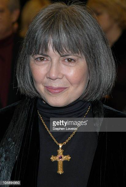 Anne Rice during Anne Rice Signs Copies of Her New Book 'Blood Canticle' at Barnes and Noble Astor Place in New York City New York United States