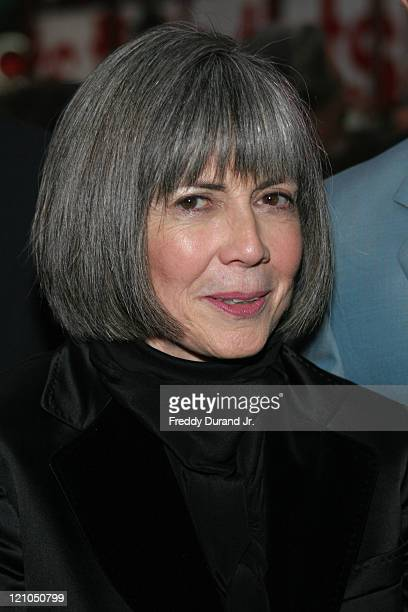 Anne Rice during Broadway opening night of 'Lestat' arrivals at The Palace Theater in New York NY United States