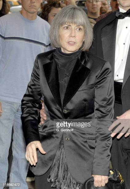 Anne Rice during Opening and AfterParty for Lestat with Elton John Bernie Taupin at The Palace Theatre Time Warner Center in New York New York United...