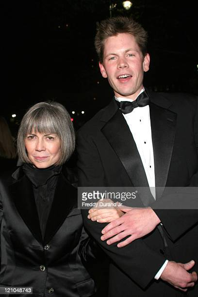 Anne Rice with son during 'Lestat' Opening Night After Party at Time Warner Center in New York NY United States