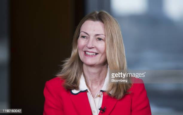 Anne Richards, chief executive officer of Fidelity Intl Ltd., pauses during a Bloomberg Television interview in London, U.K., on Wednesday, Dec. 18,...