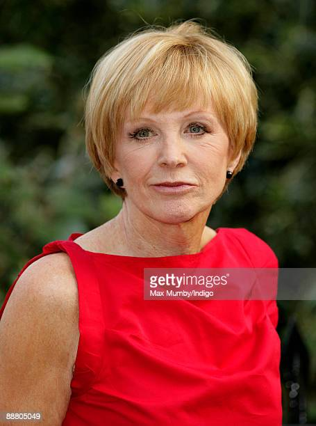Anne Robinson attends Sir David Frost's Summer garden party on July 2 2009 in London England