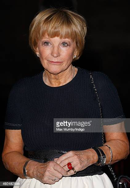 Anne Robinson attends the 2015 Man Booker Prize award ceremony at the Guildhall on October 13 2015 in London England