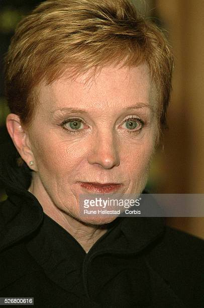 Anne Robinson presenter of 'The Weakest Link' at the launch of her new autobiography titled 'Memoirs of an Unfit Mother'