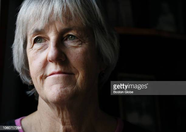 Anne Rodier poses for a portrait at her home in Kennebunk, ME on Nov. 8, 2018. Anne Rodier is the granddaughter of World War I veteran Joe Rodier....
