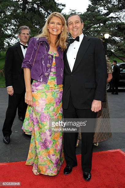 Anne Rohrbach and Clay Rohrbach attend THE NEW YORK BOTANICAL GARDEN 2008 Conservatory Ball at The New York Botanical Garden on June 5 2008 in New...