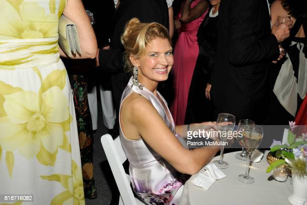 Anne Rohrbach attends THE CONSERVATORY BALL at The New York Botanical Garden on June 3 2010 in New York City