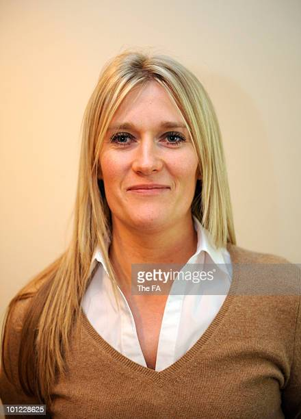 Anne Romilly, staff member of theEngland Senior Team and the English Football Association on May 23, 2008.